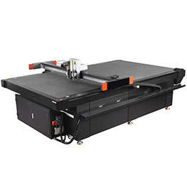 Application of oscillating knife sample cutting machine in carton industry